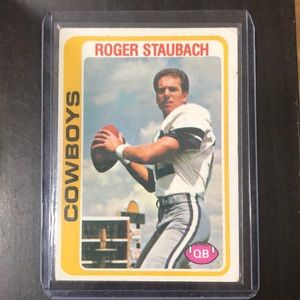 1978 Topps #290 Roger Staubach Dallas Cowboys